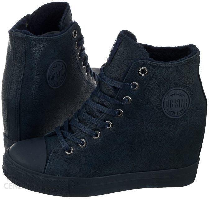 Buty Damskie Sneakersy Big Star BB274301 Granatowe