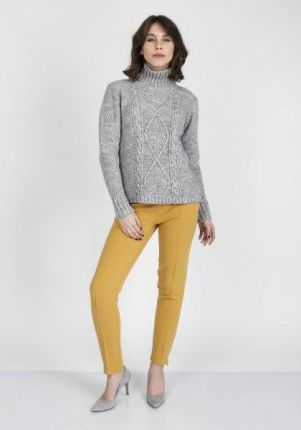 1e989cd35d8c21 Lemoniade LEMONIADE LS209 Luźny sweter oversize Różowy - Ceny i ...