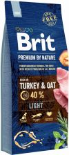 Brit Premium By Nature Light Niskokaloryczna 15kg