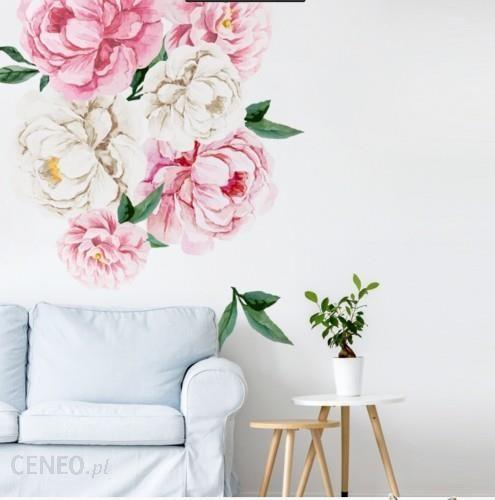 Yokodesign Naklejka Na Sciane Kwiaty Piwonie Rozowe Mniejsze
