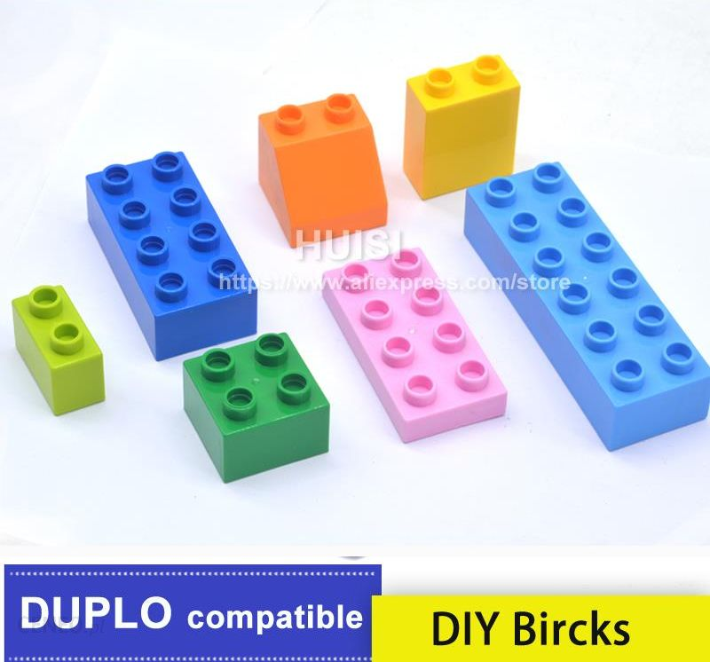 Aliexpress Boy 3 Years Toys Plastic Building Blocks Compatible With
