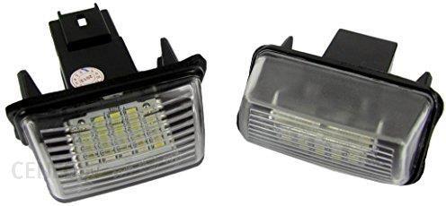 Amazon 2 X Lampką Oświetlenia Tablicy Rejestracyjnej Peugeot 206 207 307 308 406 407 Oświetlenie Tablicy Rejestracyjnej Led Ceneopl