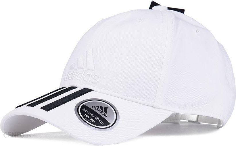 Czapka z daszkiem adidas C40 6p 3s Clmlt DT8544 WhiteBlack