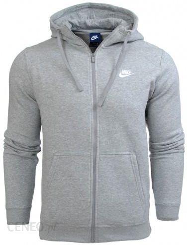 Bluza Nike meska kaptur NSW Hoodie FZ FLC Club 804389 071