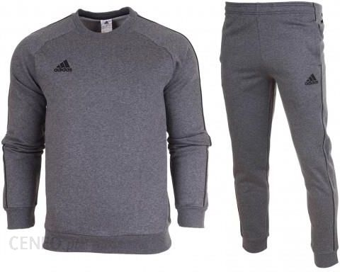 Dres kompletny Adidas meski spodnie bluza Core 18 CV3564