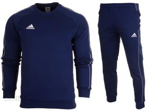 Dres kompletny adidas meski spodnie bluza core 18 cv3959