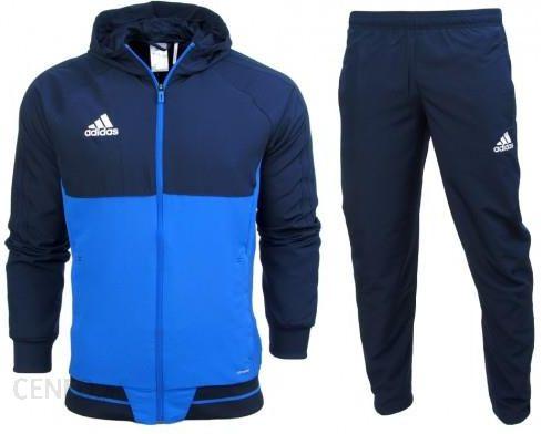 Dres kompletny Adidas junior spodnie kurtka Tiro 17 BQ2784 BQ2795 Ceny i opinie Ceneo.pl