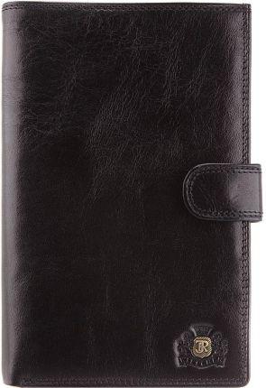 8ebc1e6e73ca5 Portfel FOX - Trifold Leather Wallet Black (001) - Ceny i opinie ...