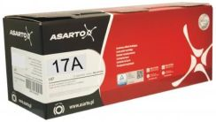 Asarto Zamiennik do HP CF217A 17A Czarny New 1600 Str (ASLHF217AN)