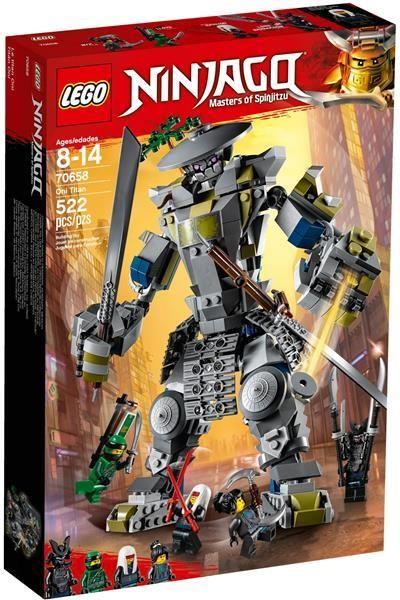 Klocki Lego Ninjago Tytan Oni 70658 Ceny I Opinie Ceneopl
