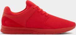 Pull & Bear Czerwone buty sportowe z technicznego materiału