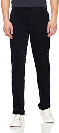10895f739 Amazon Boss spodnie męskie Casual schino-Regular D, kolor: niebieski (dark  blue