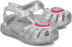9f684c2c62b4 Isabella Novelty - Sandały Dziecięce - 205038 SILVER Crocs