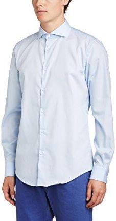 Elegancka biała koszula męska VAN THORN z klasycznym  H4Kbs