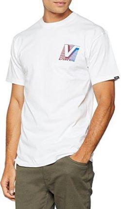 74ffd8f37a6ab Amazon Męski T-Shirt Vans Grand T-Shirt, kolor: biały , rozmiar