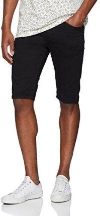 1dd2bdec96edeb Amazon New Look męskie spodenki Skinny Denim - zrelaksowany czarny (Black 1)