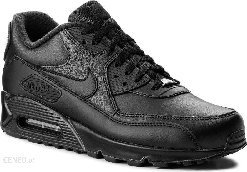 Nike Buty męskie Air Max 90 Leather czarne r. 45 12 (302519 001) Ceny i opinie Ceneo.pl
