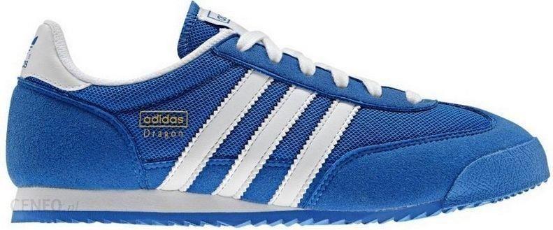 32ab328803f31 Adidas Buty juniorskie sportowe Dragon J D67715 niebieskie r. 38 2/3 -  zdjęcie