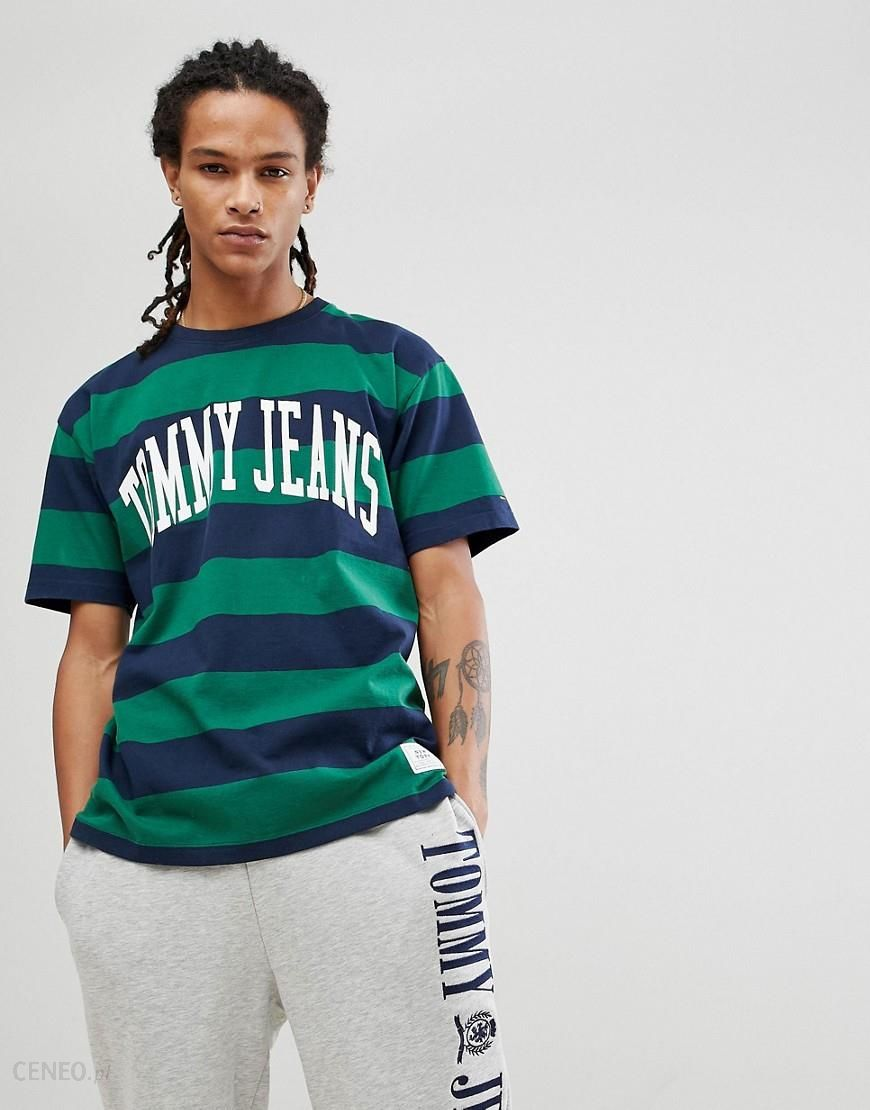 d73365a0d Tommy Jeans Collegiate Capsule T Shirt In White