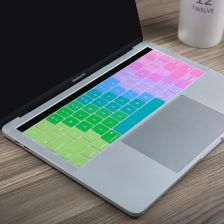 AliExpress US Enter English Rainbow Keyboard Silicone Cover for Macbook Pro 13