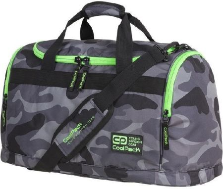 eb1ebc84933dc Torba sportowa Coolpack Fitt Camo Green Neon 91794CP nr A374 - Camo Green  Neon Allegro