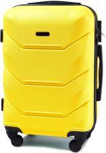 c99d5328c0e71 Mała kabinowa walizka KEMER 147 S Żółta - żółty uniwersalny uniwersalny