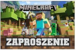 Mark Zaproszenia Urodzinowe Minecraft 5szt Ceny I Opinie Ceneopl