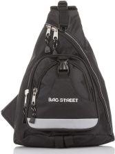9cef10da4d782 Bag Street Plecak Sportowy Młodzieżowy Na Jedno Ramię Triangular 4033