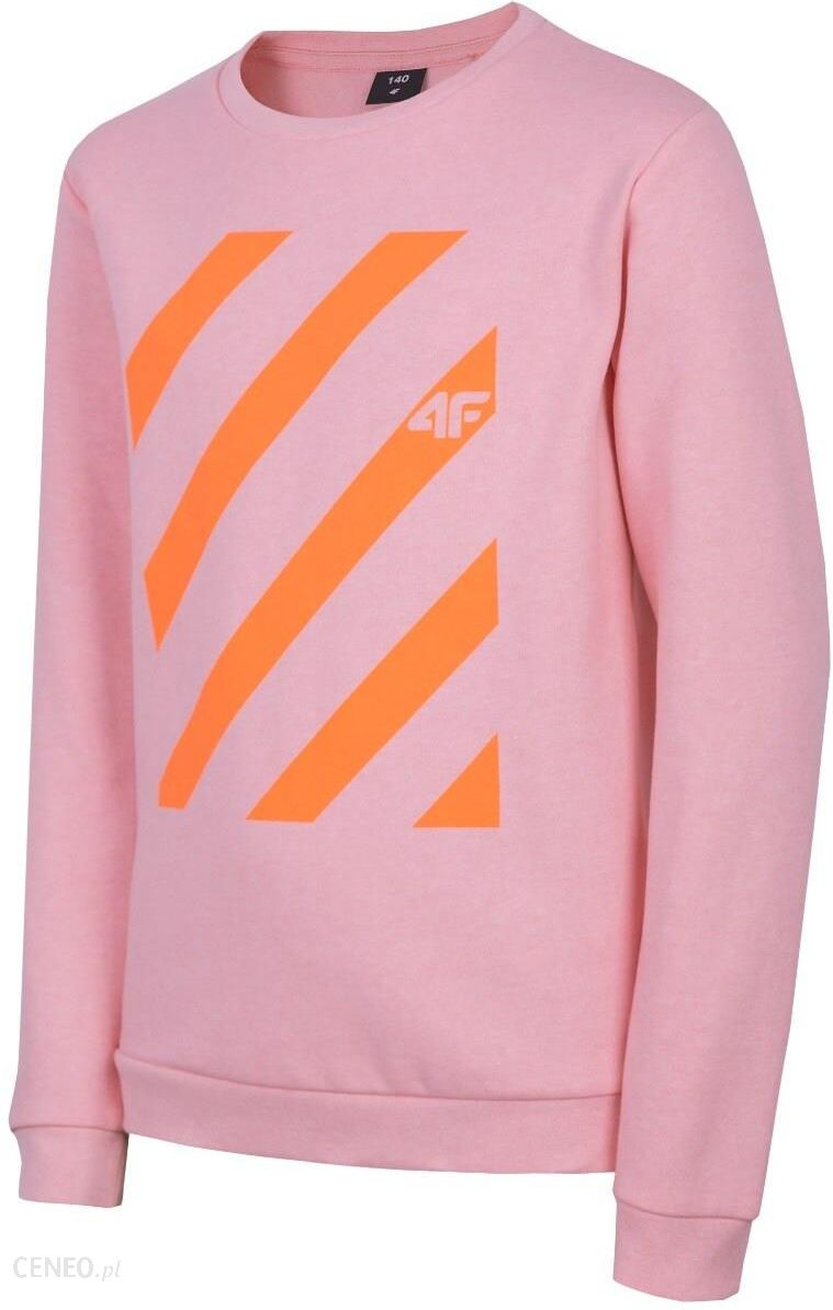 d2762418d13f78 Bluza dla dużych dzieci (dziewcząt) JBLD206 - jasny róż melanż - zdjęcie 1