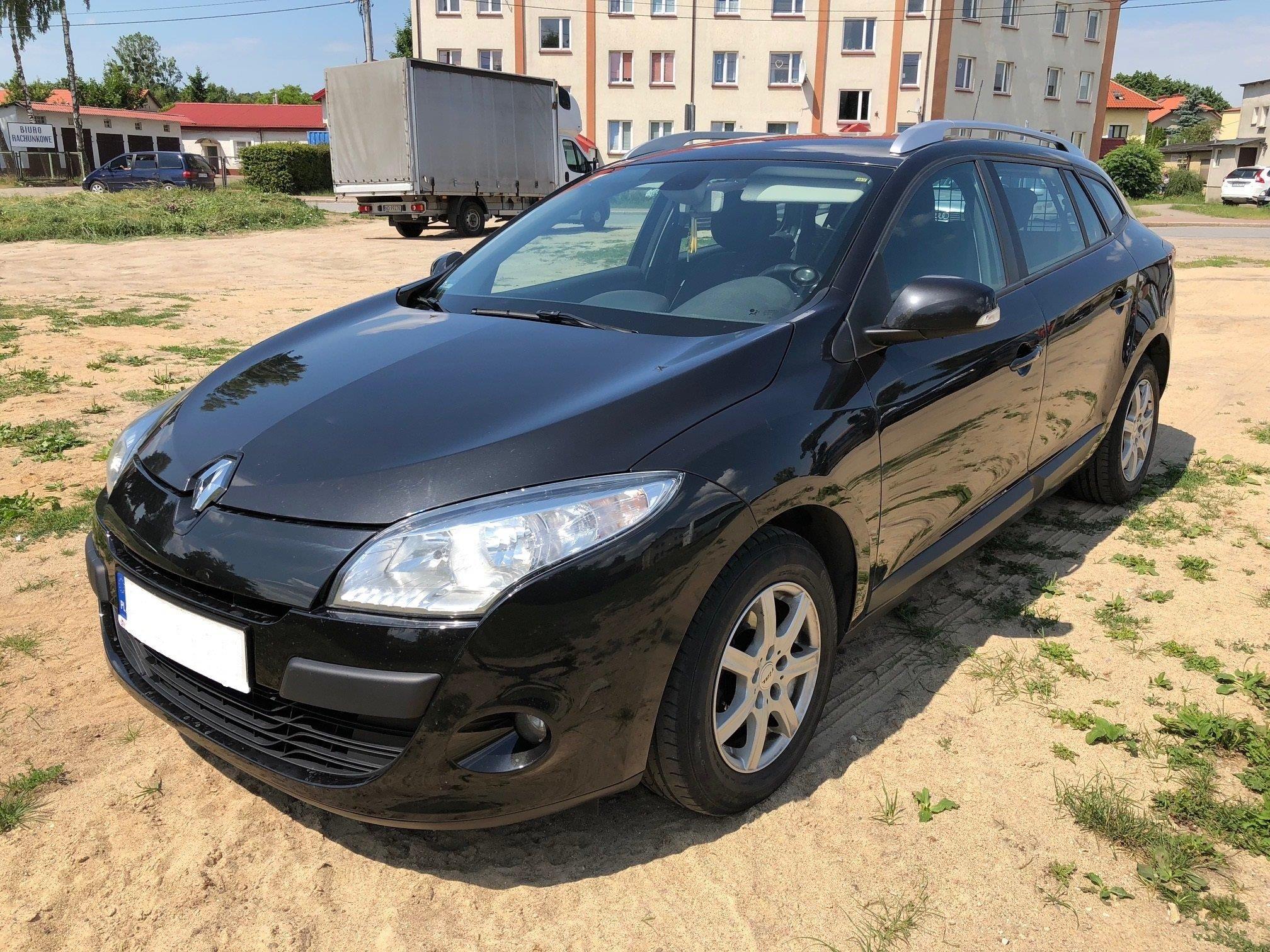 Renault Megane Iii 2010 138km Kombi Czarny Opinie I Ceny Na Ceneo Pl