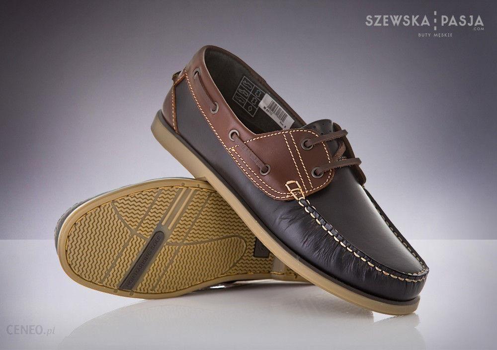 ba33dd1752959 Mokasyny Żeglarskie Półbuty Boat Shoes Skóra 42 - Ceny i opinie ...