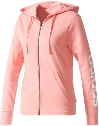adidas bluza damska pudrowy roz