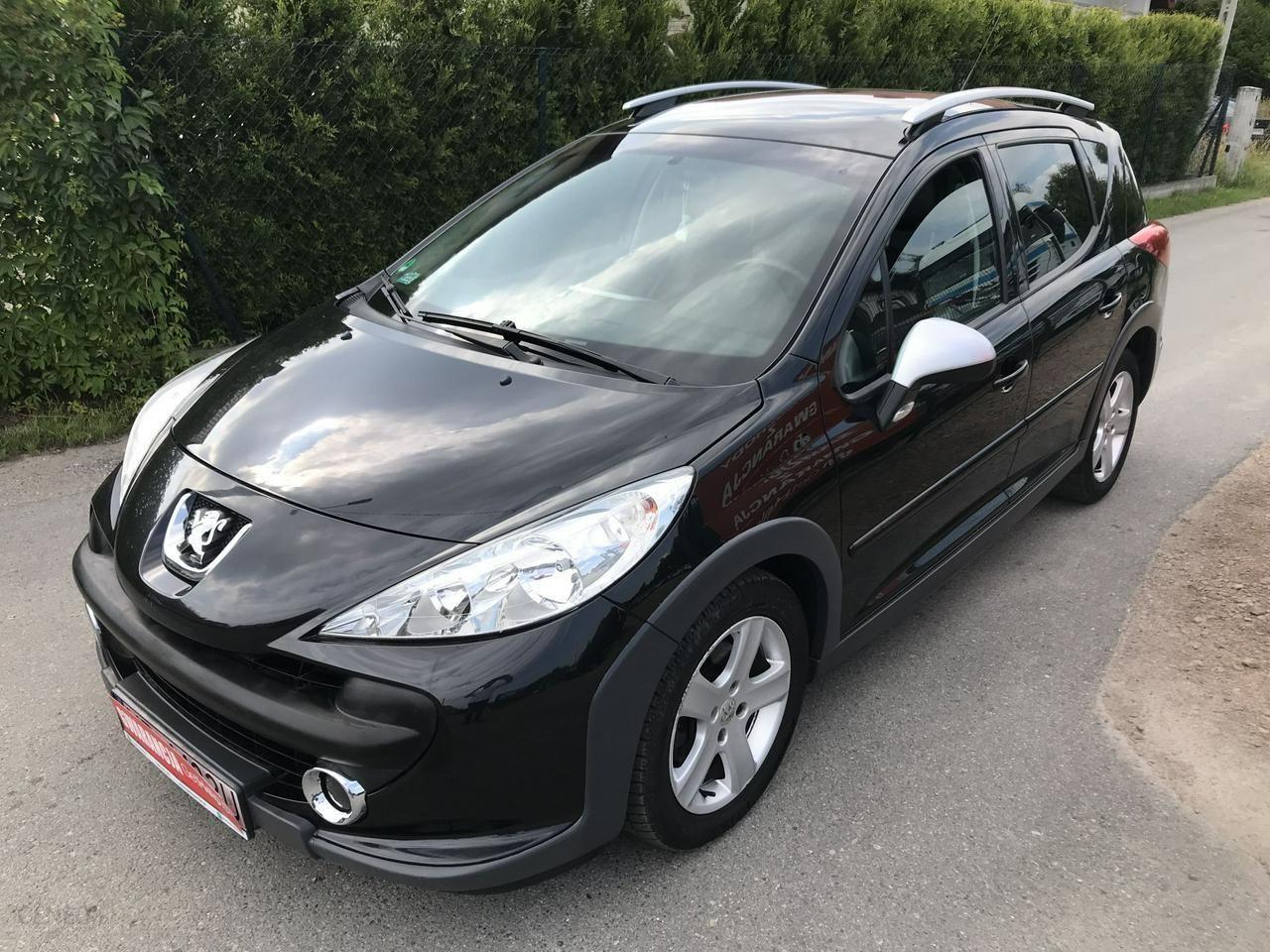 Peugeot 207 2008 110km Kombi Czarny Opinie I Ceny Na Ceneo Pl