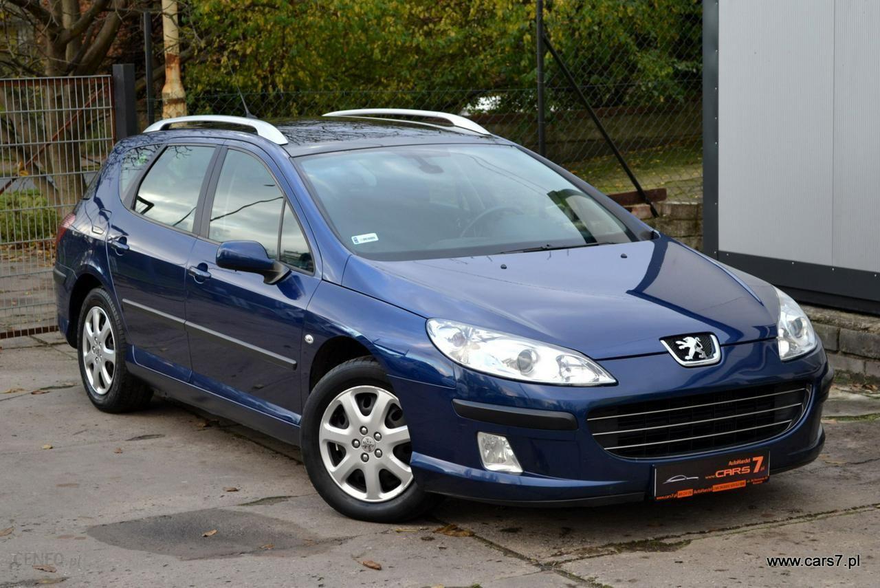 Peugeot 407 2007 109km Kombi Niebieski Opinie I Ceny Na Ceneo Pl