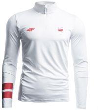 48b9bca09 Longsleeve funkcyjny męski Polska Pyeongchang 2018 TSMLF900 - biały