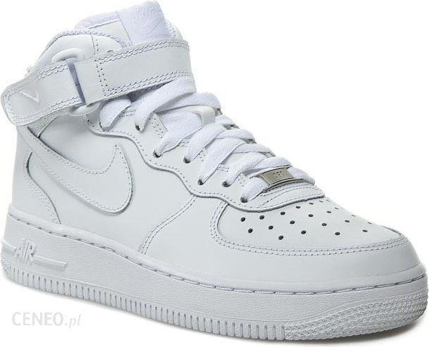 Nike Buty damskie Air Force 1 Mid Gs 314195 113 białe r. 36.5 Ceny i opinie Ceneo.pl