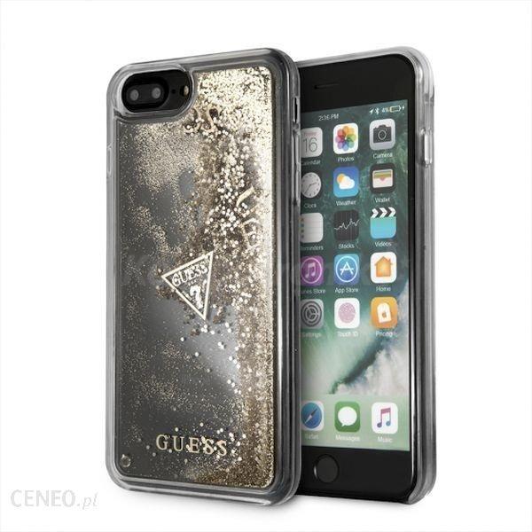 promo code 9c600 61f28 Guess Hardcase do iPhone 7 Plus/8 Plus złoty/Glitter Liquid (guhci8lgluflgo)