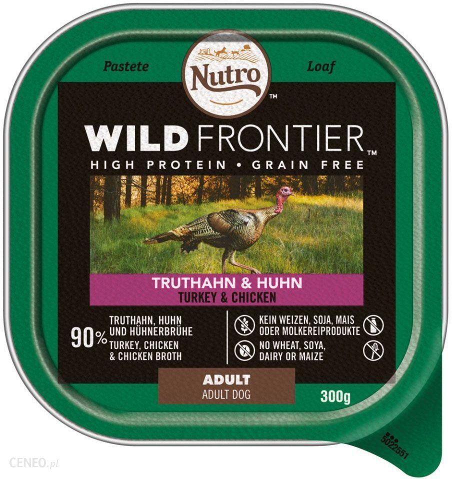 Nutro Wild Frontier Kurczak Indyk 20x300g
