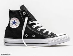 Converse Obuwie męskie C. Taylor All Star Hi Black M9160 czarne r. 44 12 (M9160) Ceny i opinie Ceneo.pl