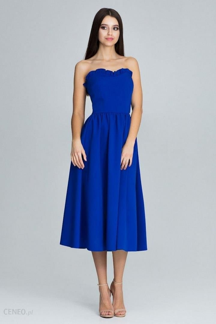 7df460d18c Figl Sukienka Model M602 Blue - Ceny i opinie - Ceneo.pl