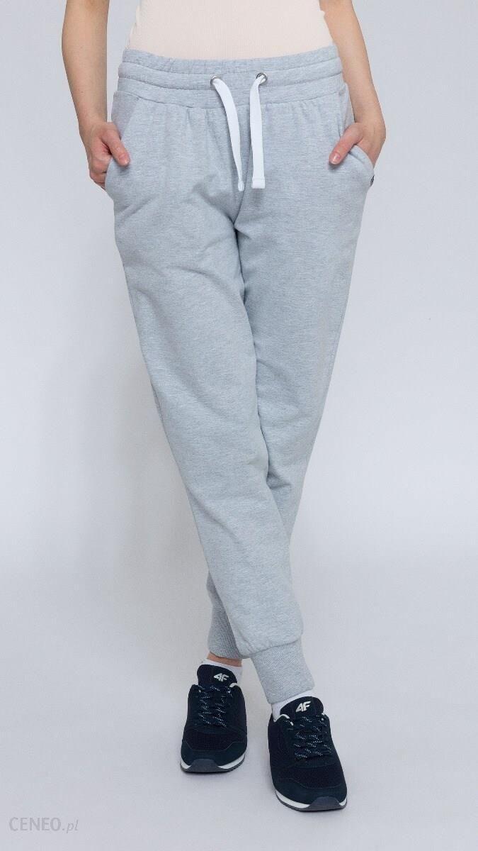 96f05e780a 4F Spodnie dresowe damskie SPDD300 - chłodny jasny szary - Ceny i ...
