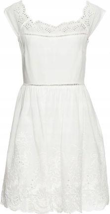 0dba627ea0 Sukienka biały 40 42 L XL 951769 bonprix - Ceny i opinie - Ceneo.pl