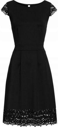 b680c1cc18 Zalando Essentials Curvy Sukienka z dżerseju black - Ceny i opinie ...
