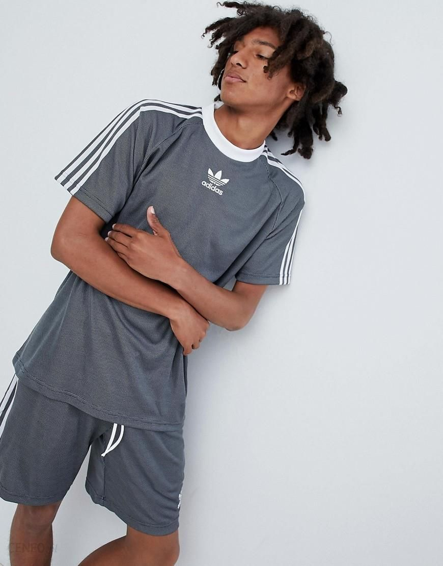 Adidas Originals PLGN Football T Shirt In Grey CW5113 Grey Ceneo.pl