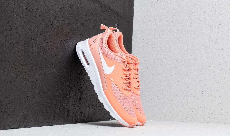 Nike Wmns Air Max Thea Premium Crimson Bliss White Obuwie