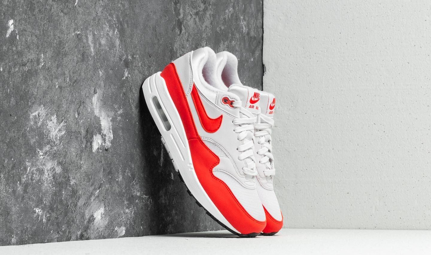Nike Air Max 1 WMNS Vast Grey Habanero Red