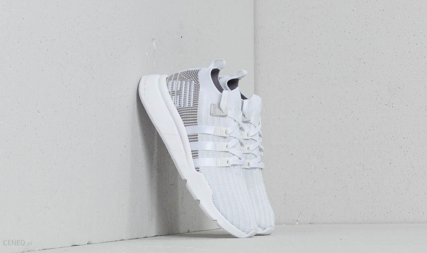 promo code 1d566 6e831 adidas EQT Support Mid ADV Primeknit Ftw White  Ftw White  Grey One -  zdjęcie
