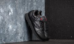 Reebok classic leather black Moda i biżuteria Fashion and