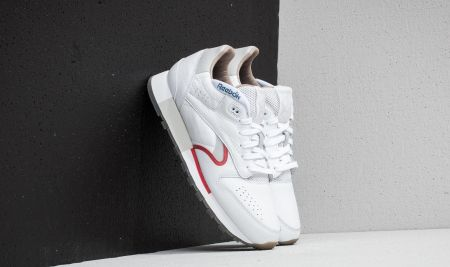 Reebok classic leather navy Moda i biżuteria Fashion and