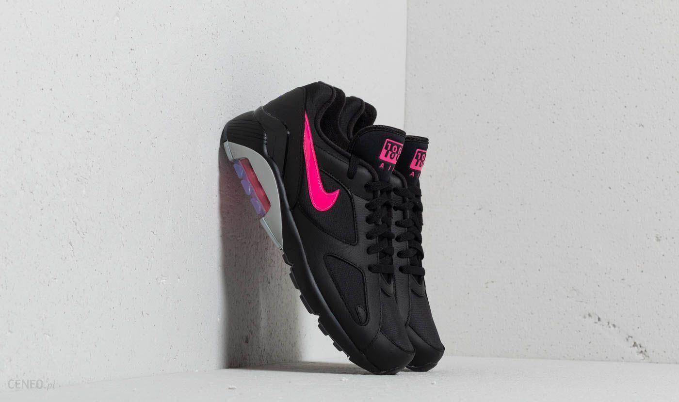 Nike Air Max 180 Black Pink Blast Wolf Grey Ceneo.pl